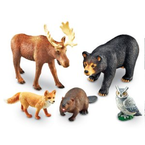 Jumbo Forest Animals LER 0787
