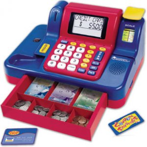Teaching Cash Register with Canadian Currency LSP 2690-C
