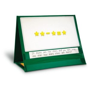 Write-On/Wipe-Off Magnetic Demonstration Tabletop Pocket Chart LER 2699