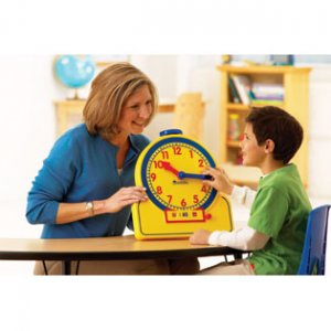 Primary Time Teacher™ 24-Hour Learning Clock® LER 2995