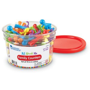 All About Me Family Counters™, Set of 72 Item # LER 3372