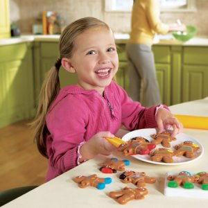 Smart Snacks® Gingerbread Sort & Snap™ Cookies  LER 7206