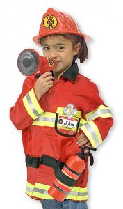 Fire Chief Role Play Costume Set  3+ years MD-4834