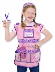 Hair Stylist Role Play Costume Set  3 - 6 years  MD-4847