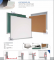 "Porcelain Dry Erase Board, Aluminum Frame, 48"" x96"" (50 Year Surface Warranty) 20004896 PO BC"