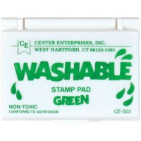 Washable Stamp Pads, Assorted